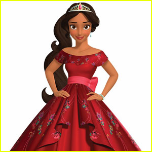 Disney's New Princess Elena of Avalor Gets Ruby Red Royal Gown - See It Here!