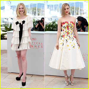 Elle Fanning Joins 'Neon Demon' Co-Star Bella Heathcote at Cannes