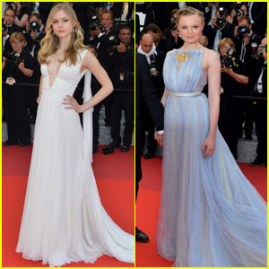 Erin Moriarty & Maria-Victoria Dragus Go Glam for Cannes 2016 Closing Ceremony