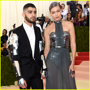 Zayn Malik Rocks Metal Arms at Met Gala 2016 with Gigi Hadid!