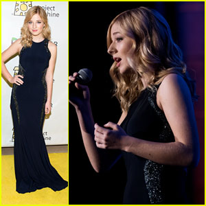 Jackie Evancho Performs At Project Sunshine's Annual Benefit