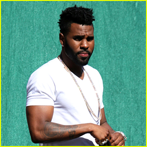 Jason Derulo Heads to 'Jimmy Kimmel Live!' Taping