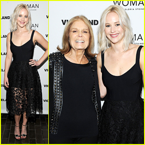 Jennifer Lawrence Attends 'Woman' Series Premiere