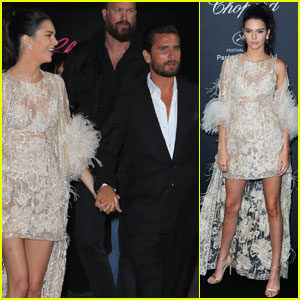 Kendall Jenner Hit Up Chopard Wild Party in Cannes With Scott Disick