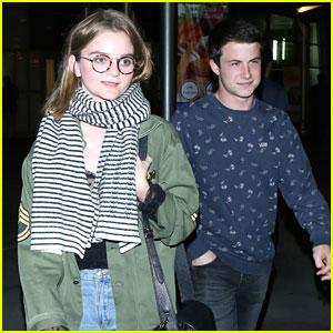 Kerris Dorsey & Dylan Minnette Have Movie Date Night in Hollywood
