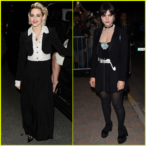 Kristen Stewart & Ex Soko Seperately Arrive at 'Vanity Fair' Dinner Party