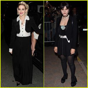 Kristen Stewart & Ex Soko Seperately Arrive at 'Vanity Fair' Dinner Party