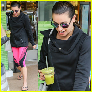 Lea Michele Heads to SoulCycle After Robert Buckley Dating Confirmation