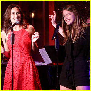 Melissa Benoist Rocks Out for Live Performance with Laura Benanti!