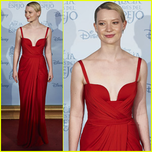 Mia Wasikowska Premieres 'Alice Through The Looking Glass' in Madrid