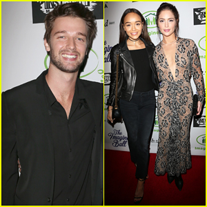 Patrick Schwarzenegger Suits Up For Imagine Ball Benefit Concert 2016!
