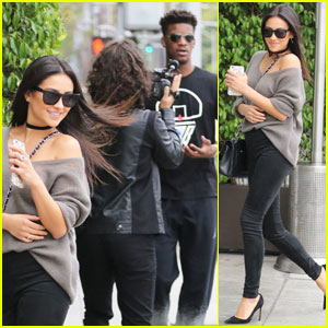 Shay Mitchell Enjoys Day Date With NBA Player Jimmy Butler
