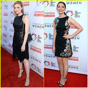 Skyler Samuels & Emily Robinson Step Out For 'An Evening With Women'