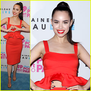 Sofia Carson is Red Hot Hot Hot at iHeartRadio's Pool Party in Miami