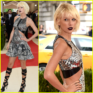 Taylor Swift Rocks Edgy Louis Vuitton Look at Met Gala 2016!