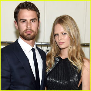 Theo James & Anna Ewers Celebrate 'Hugo Boss'