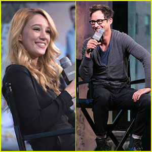 Yael Grobglas & Tom Cavanagh Talk Up 'Jane' & 'The Flash' at AOL Build