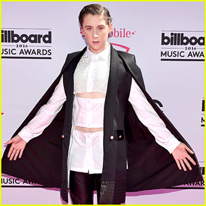 Trevor Moran Wears Cape For Billboard Music Awards 2016