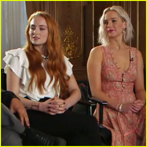 Sophie Turner Stops by 'GMA' With the 'X-Men: Apocalypse' Cast - Watch Now!
