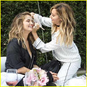 Ashley Tisdale Hosts PJ Party For Illuminate Cosmetics Launch