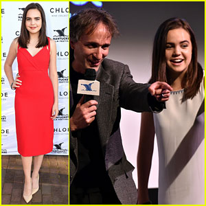 Bailee Madison Goes to Nantucket to Premiere Her New Film!