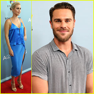 Clarie Holt & Grey Damon Premiere New Season of 'Aquarius' in LA