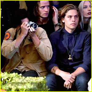 Cole & Dylan Sprouse Hit Up Tyler The Creator's Fashion Show in LA