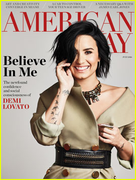 Demi Lovato Gets Candid About Her Past in for 'American Way'