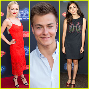 Dove Cameron & Rowan Blanchard Support Their Pals at 'Adventures in Babysitting' Premiere!