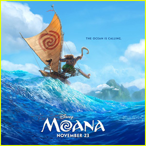 Dwayne 'The Rock' Johnson Unveils First 'Moana' Promo Poster
