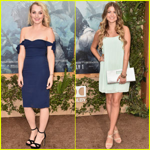 Evanna Lynch & Sofia Reyes Dress Up for 'The Legend of Tarzan' Premiere