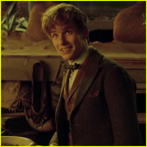 New 'Fantastic Beasts & Where to Find Them' Featurette Introduces Newt Scamander - Watch Now!