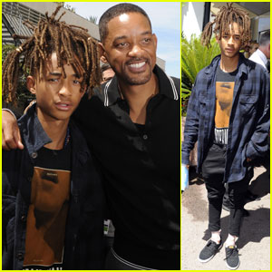 Jaden Smith Hangs Out With Dad Will at Cannes Lions Festival 2016