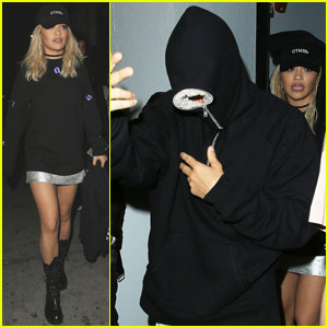 Justin Bieber Hangs Out With Rita Ora in Hollywood