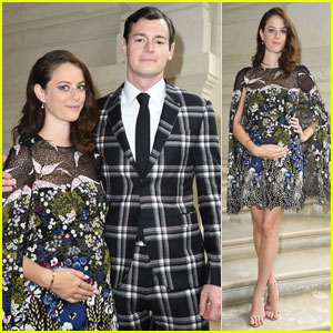 Expecting Parents Kaya Scodelario & Benjamin Walker Hit Up Paris Fashion Week