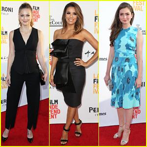 Melissa Benoist Hits Los Angeles Film Festival With Emily Robinson