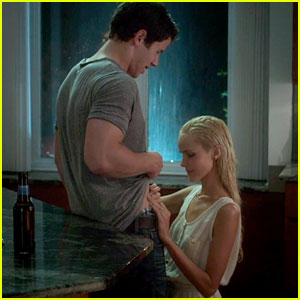 Nick Jonas Lifts Up His Shirt for Isabel Lucas in Exclusive 'Careful What You Wish For' Clip