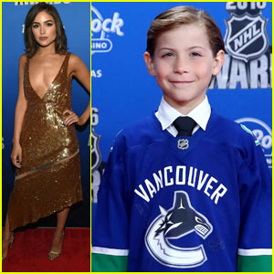 Jacob Tremblay Takes Selfies at NHL Awards!