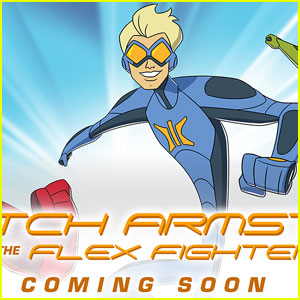 Netflix Debuts First Look at 'Stretch Armstrong & the Flex Fighters'!
