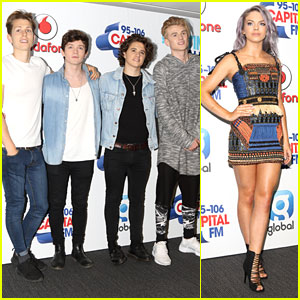 The Vamps & Louisa Remember Christina Grimmie Before Hitting CapitalFM Summertime Ball 2016