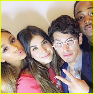 'Victorious' Cast Reunites For Ariana Grande's Birthday!