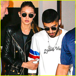 Zayn Malik & Gigi Hadid Hold Hands While Leaving Apartment Together