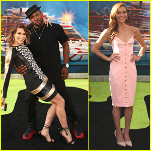 Allison Holker & Stephen 'tWitch' Boss Hit 'Ghostbusters' Premiere Before Dance Awards Dinner