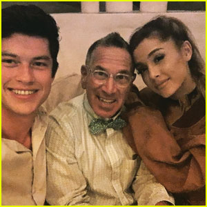 Friendly Exes Ariana Grande & Graham Phillips Reunite in Cute Photo!