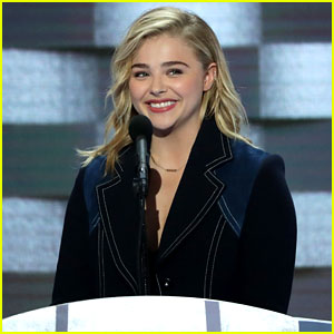Chloe Moretz Supports Hillary Clinton in DNC Speech (Video)