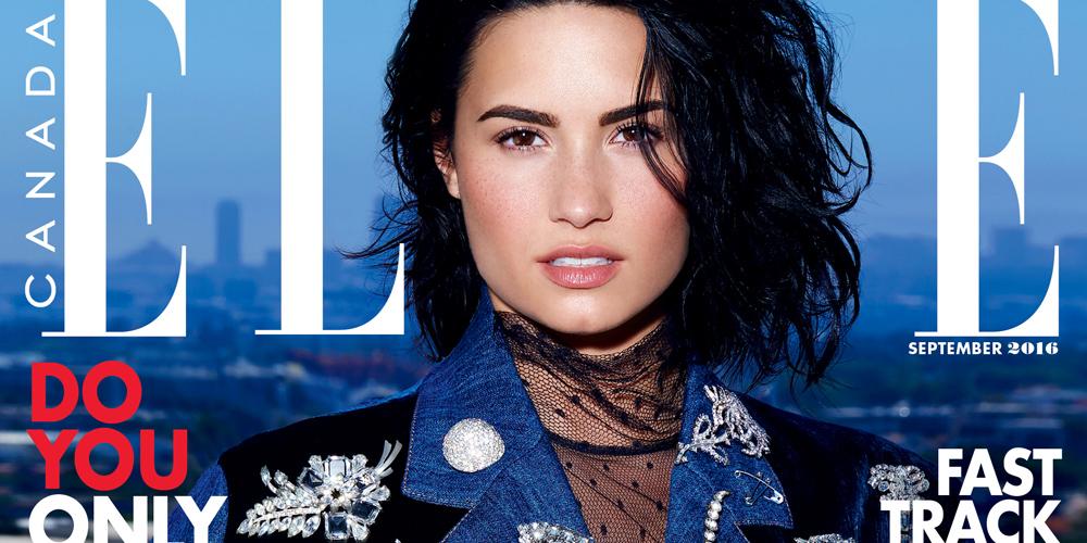 Demi Lovato Photoshoot Elle | www.pixshark.com - Images ...