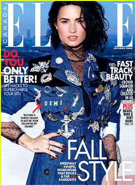 Demi Lovato is Elle Canada's September 2016 Cover Girl!