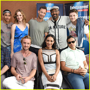 Grant Gustin Wears Flash Shirt To Talk 'The Flash' at Comic-Con