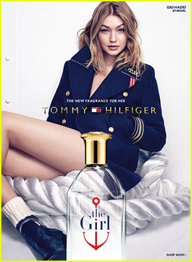 Gigi Hadid Fronts Tommy Hilfiger's The Girl Perfume Campaign