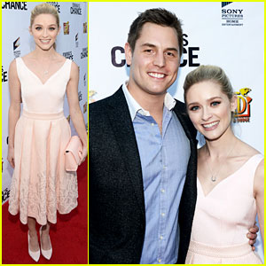 Greer Grammer & Boyfriend Tyler Konney Couple Up at 'Emma's Chance' Premiere